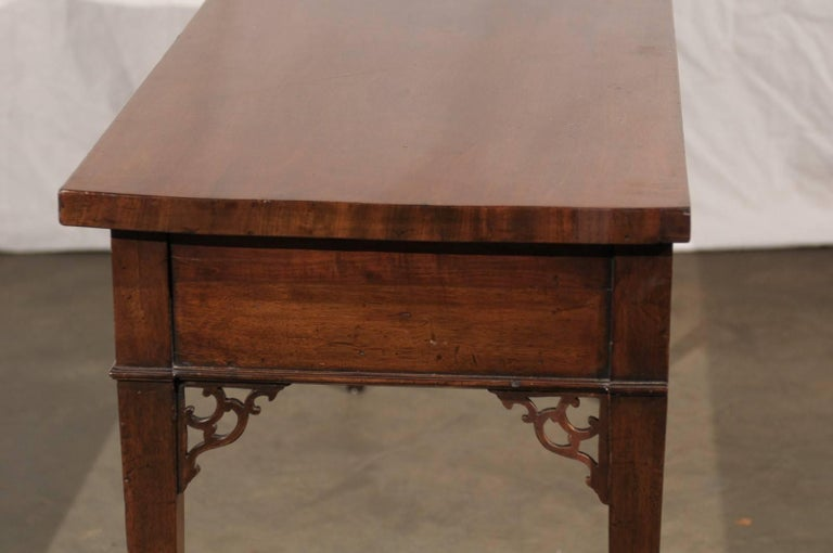 18th-19th Century English Regency Mahogany Serving Table For Sale 5