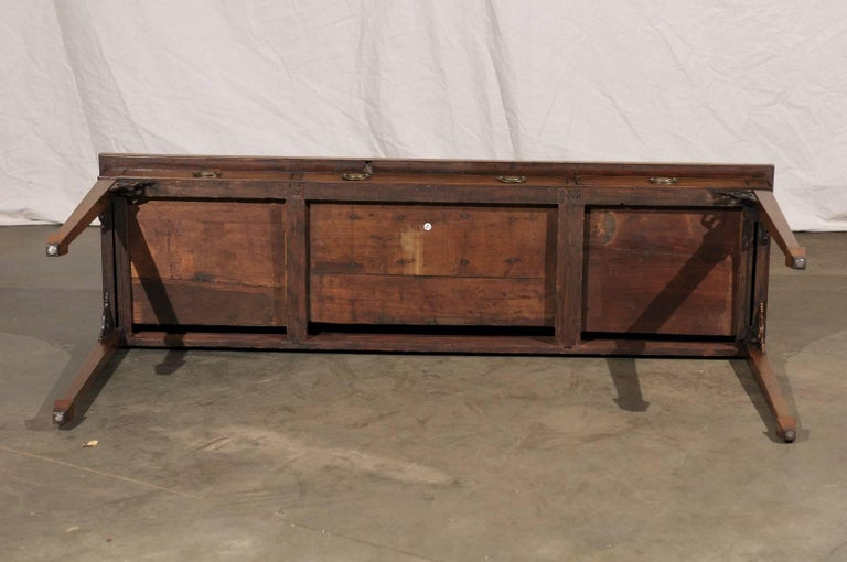 18th-19th Century English Regency Mahogany Serving Table For Sale 6