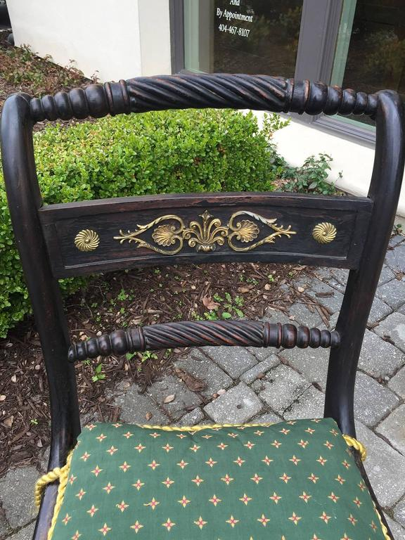 English Regency Chairs, of the Period, circa 1820 In Good Condition For Sale In Atlanta, GA