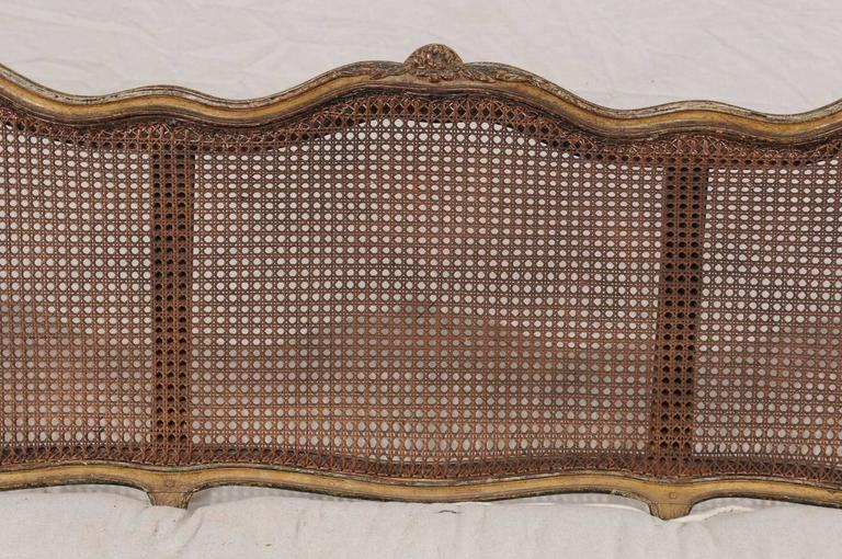 18th-19th Century Regence Settee with Cane For Sale 4
