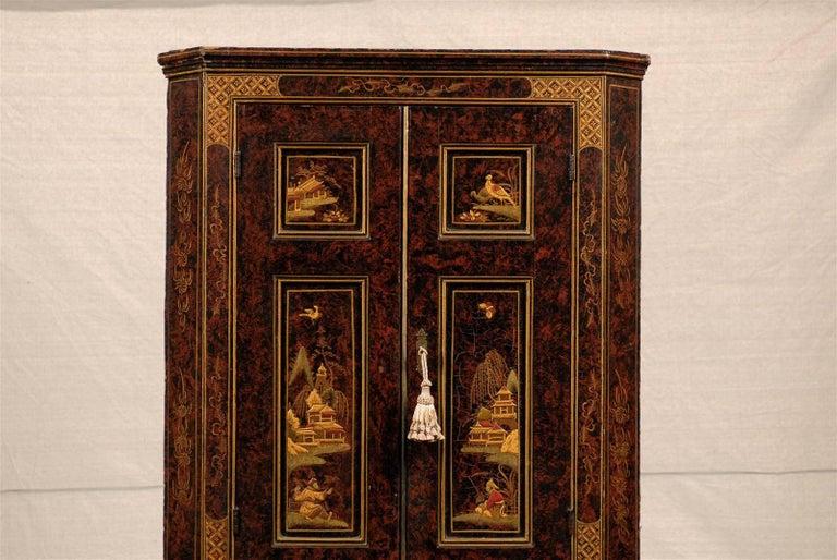19th Century Chinoiserie Corner Cabinet 3