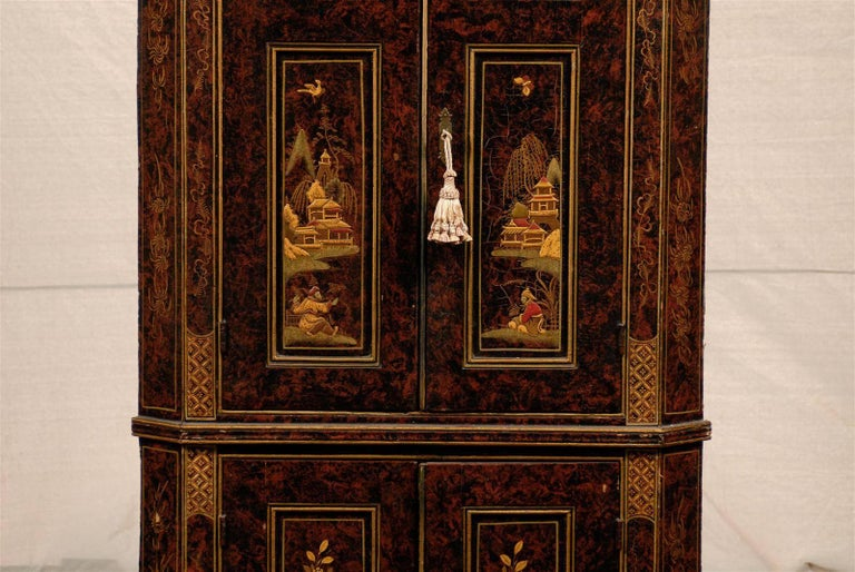 19th Century Chinoiserie Corner Cabinet 4