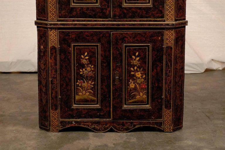 19th Century Chinoiserie Corner Cabinet 5