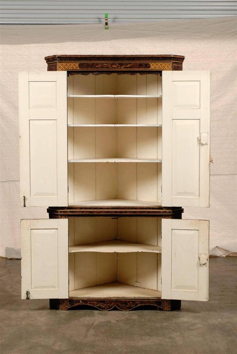 19th Century Chinoiserie Corner Cabinet 6