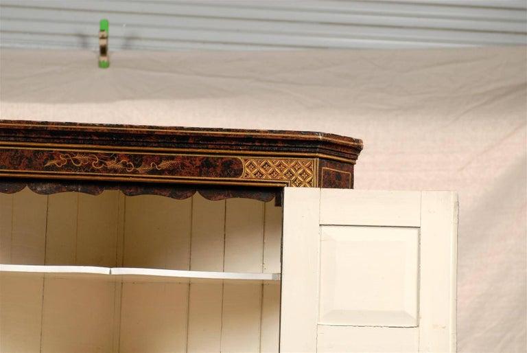 19th Century Chinoiserie Corner Cabinet 7