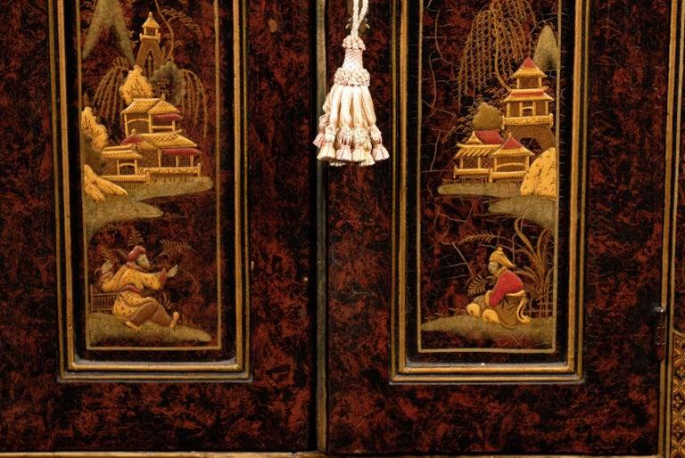 19th Century Chinoiserie Corner Cabinet 8