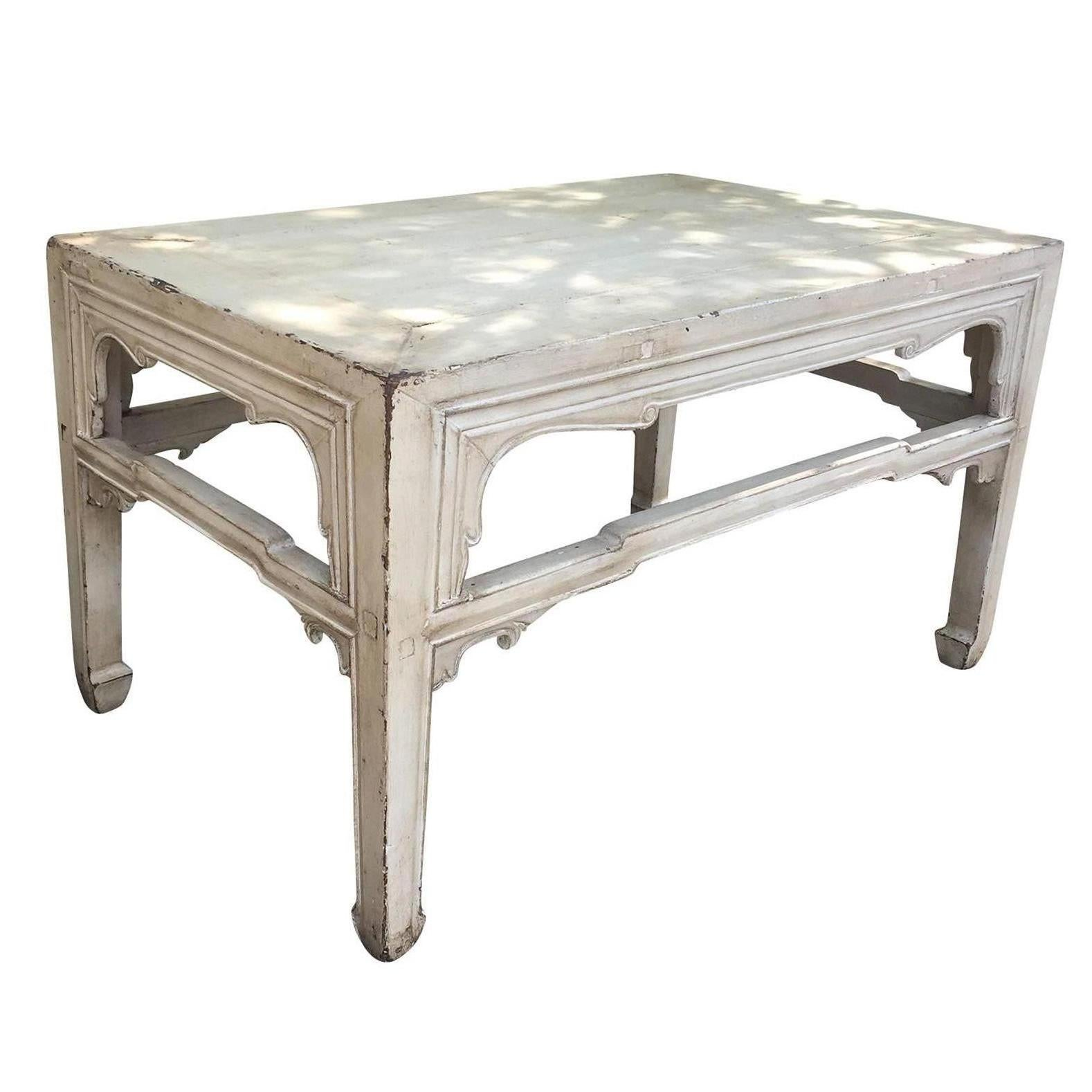 18th 19th Century, Chinese Coffee Table, Custom Finish