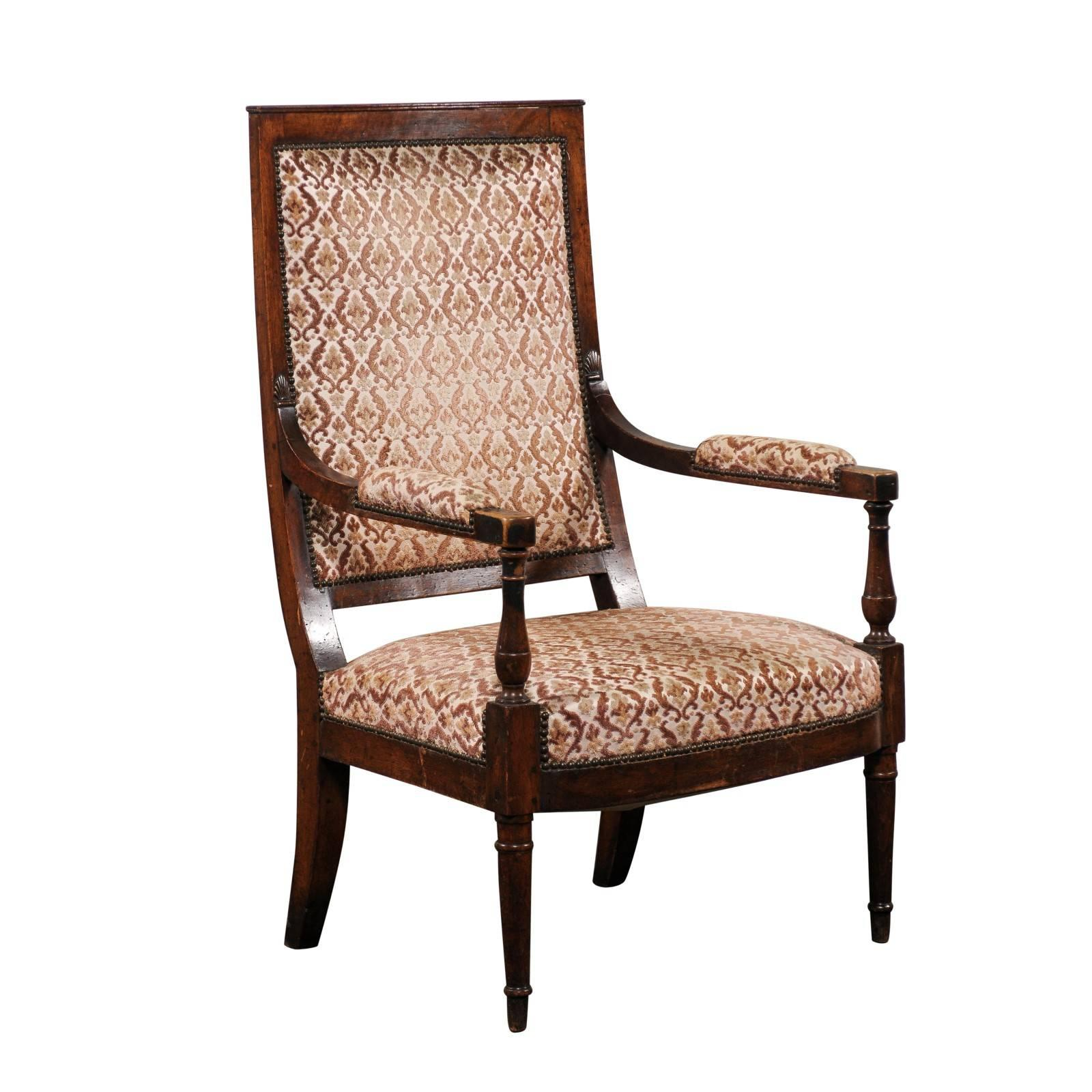 large scale french chair 19th century