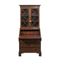 English Chippendale Secretary Bookcase