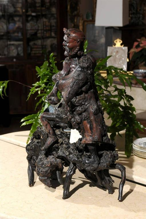 Antique Chinese Root Carving For Sale At 1stdibs