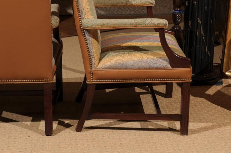 Custom Made Martha Washington Chair At 1stdibs