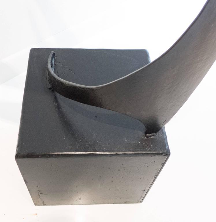 Contemporary James Bearden Steel Sculpture,