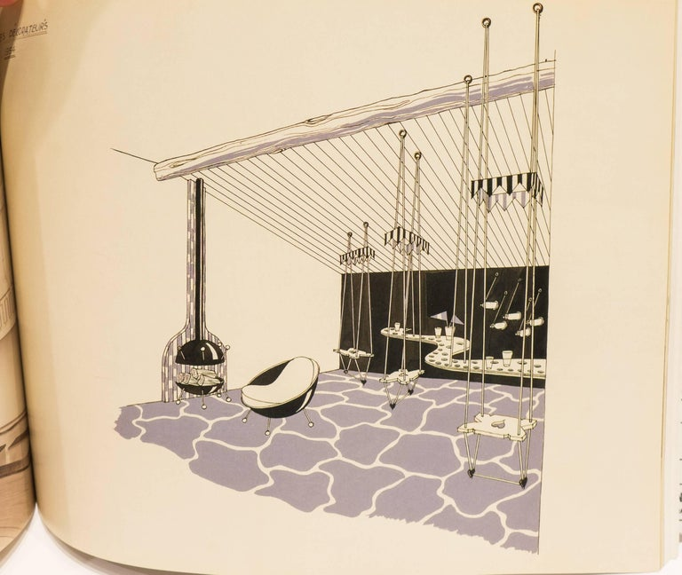 jean roy re decorateur a paris book for sale at 1stdibs. Black Bedroom Furniture Sets. Home Design Ideas