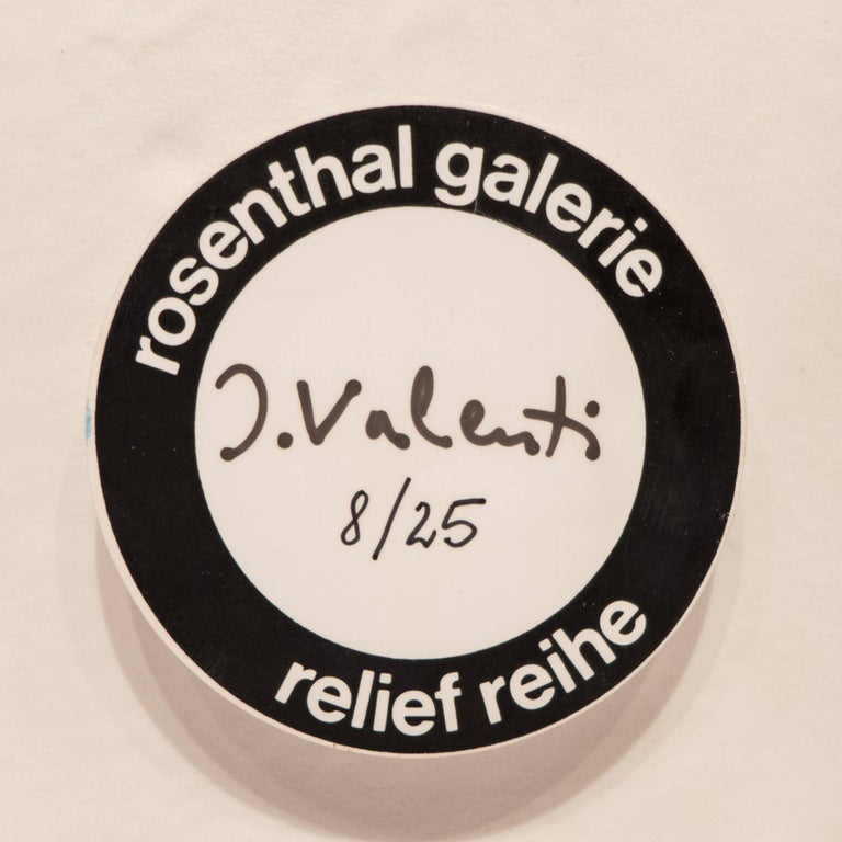 Ceramic Italo Valenti Wall Relief for Rosenthal For Sale