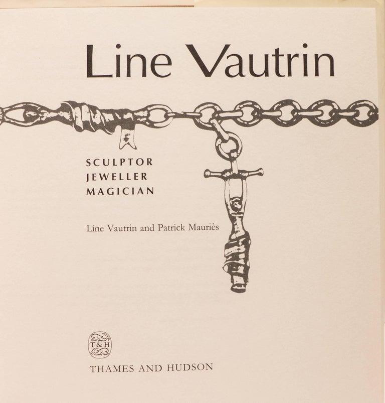 Mid-Century Modern Line Vautrin Sculptor, Jeweller, Magician Book For Sale