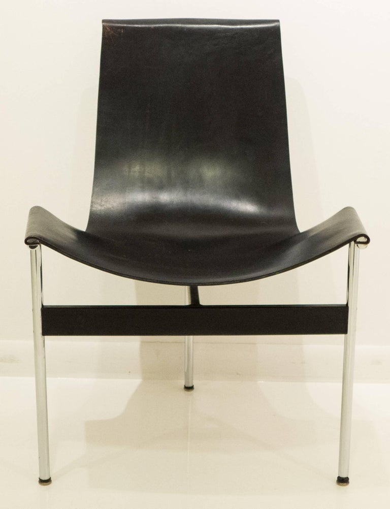 Enameled Early Laverne T-Chair by Katavolos, Littell and Kelley For Sale