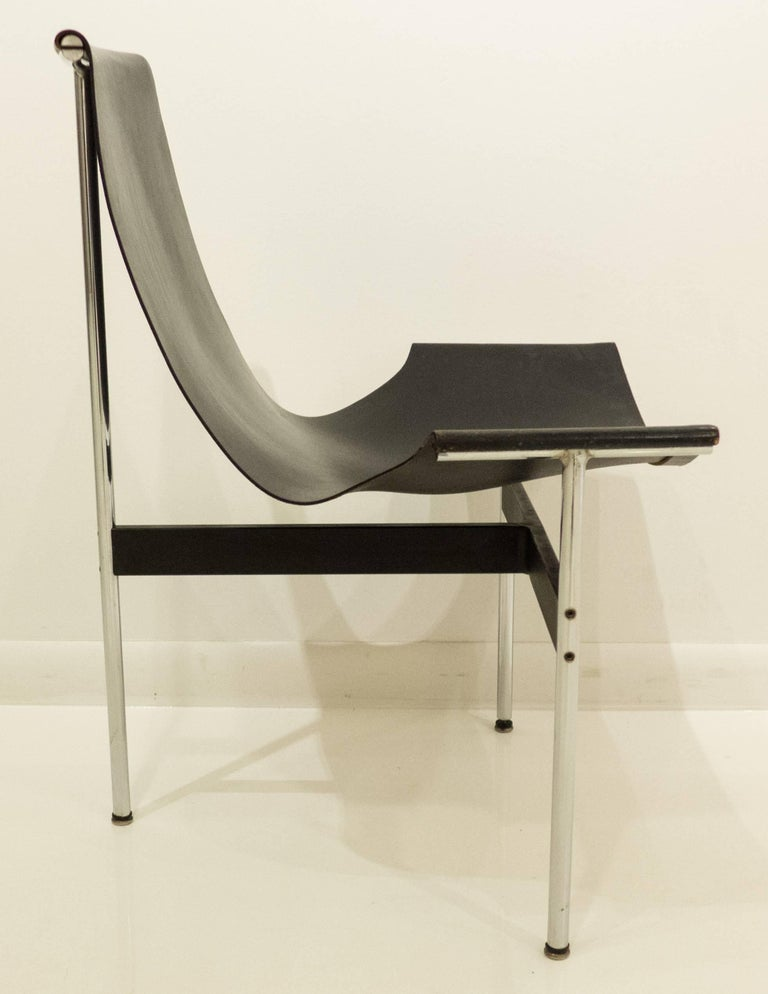 Early Laverne T-Chair by Katavolos, Littell and Kelley In Excellent Condition For Sale In New York, NY