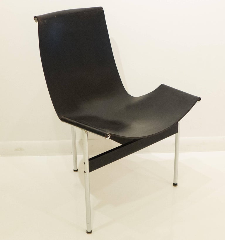 International Style Early Laverne T-Chair by Katavolos, Littell and Kelley For Sale