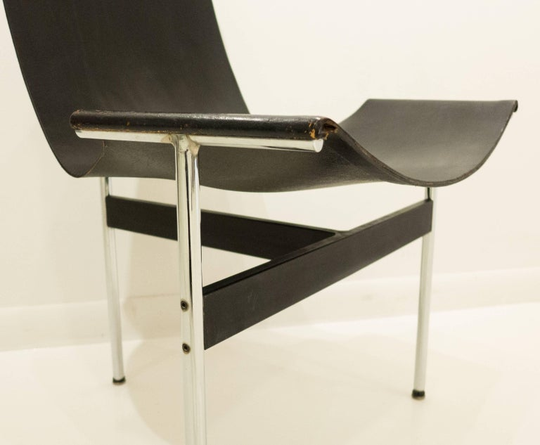 Mid-20th Century Early Laverne T-Chair by Katavolos, Littell and Kelley For Sale