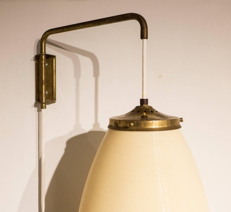 American Rotaflex Adjustable Wall-Hanging Lamp For Sale