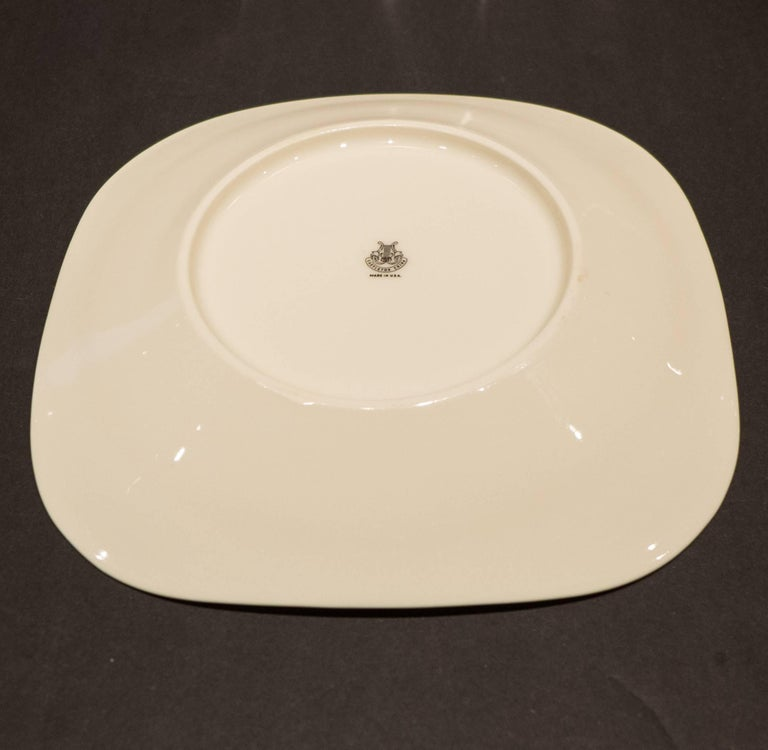 Porcelain Eva Zeisel Museum Service for Ten by Castleton For Sale