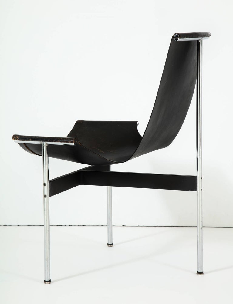 Laverne T-Chair by Katavolos, Littell and Kelley In Good Condition For Sale In New York, NY
