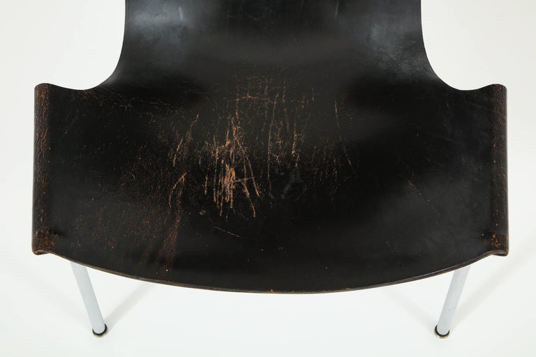 Steel Laverne T-Chair by Katavolos, Littell and Kelley For Sale