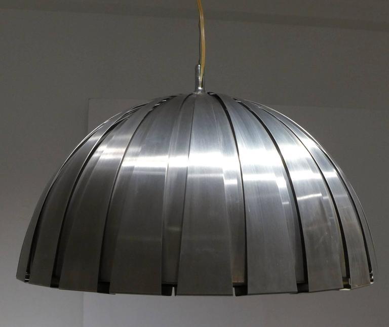 Italian Calotta Pendant Lamp by Elio Martinelli For Sale