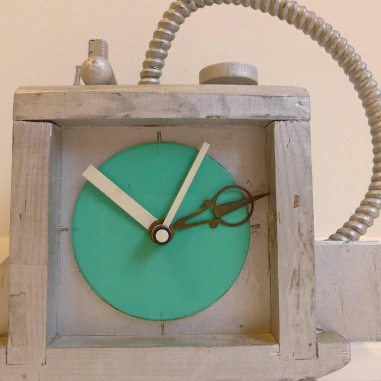 Late 20th Century Fantasy Clock by Richard Birkett For Sale