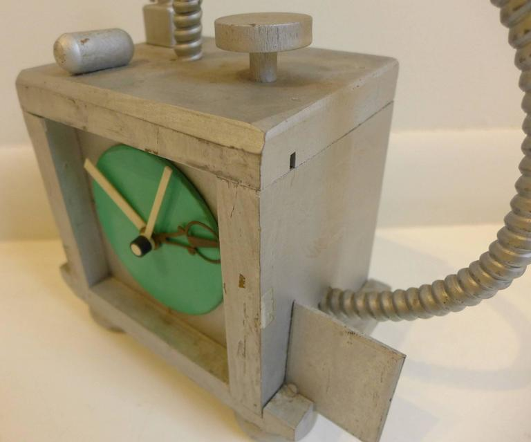 Fantasy Clock by Richard Birkett In Good Condition For Sale In New York, NY