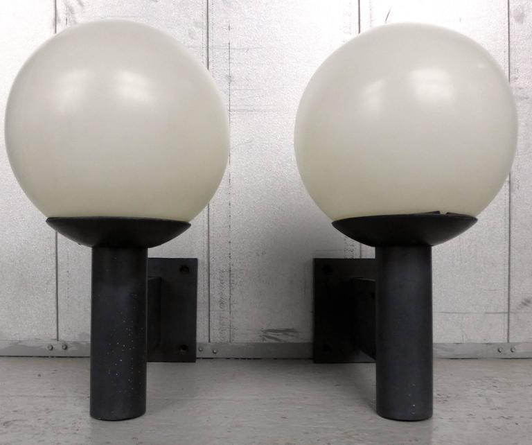 Pair of Habitat Outdoor Sconces at 1stdibs