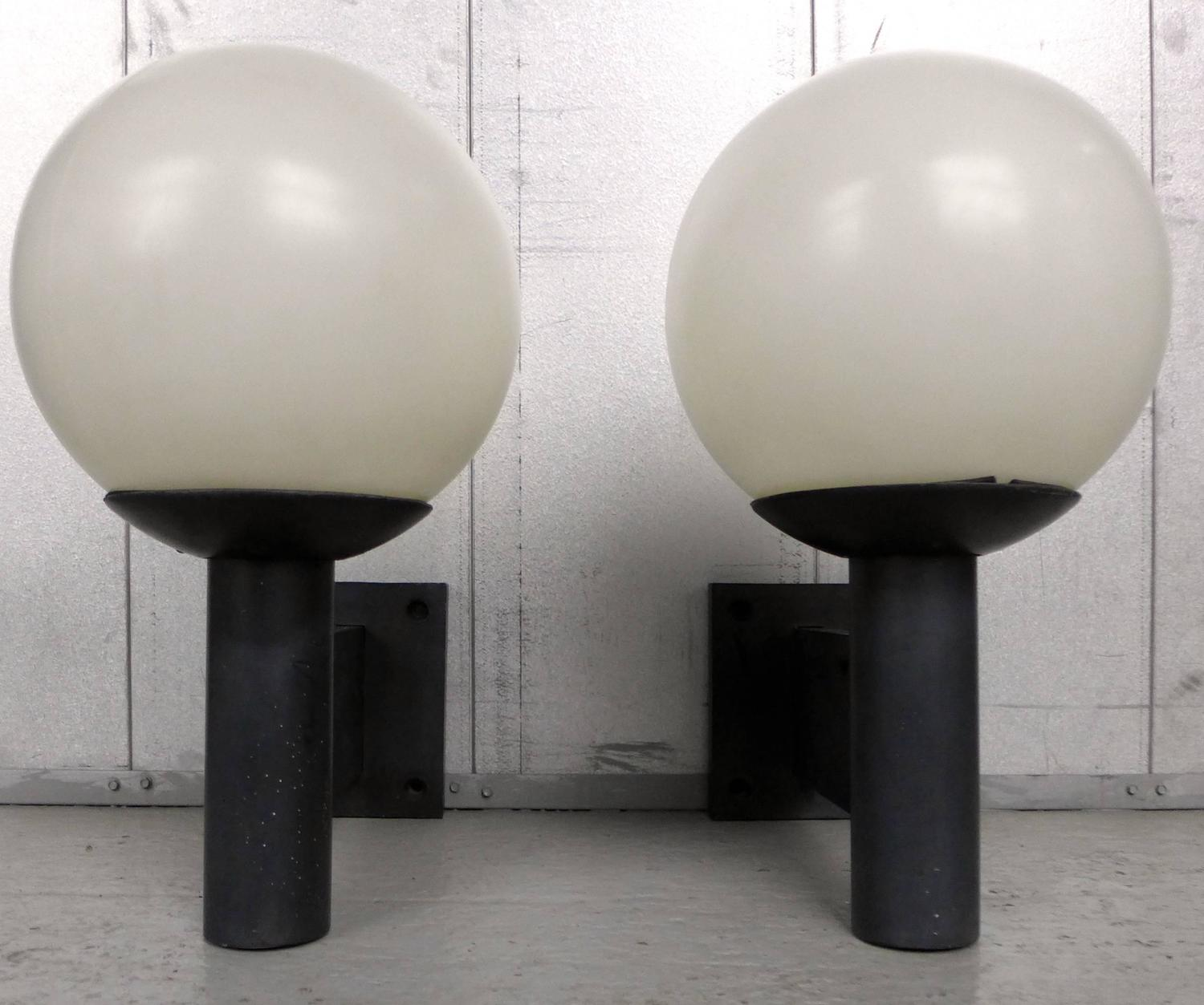 Habitat Lighting Wall Lights : Pair of Habitat Outdoor Sconces at 1stdibs