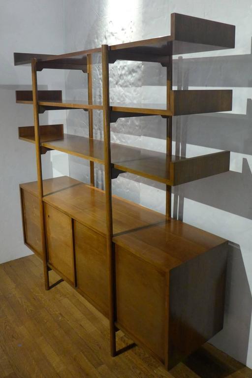 Mid-Century Modern Milo Baughman Storage Room Divider for Glenn of California For Sale