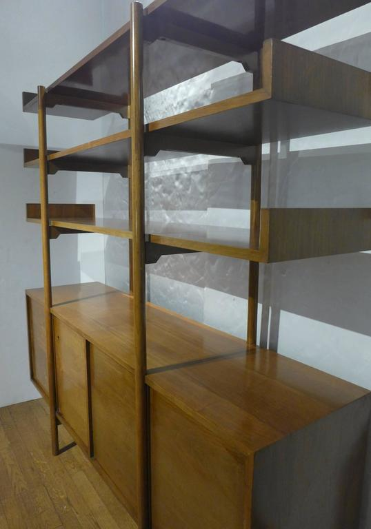 Milo Baughman Storage Room Divider for Glenn of California In Good Condition For Sale In New York, NY