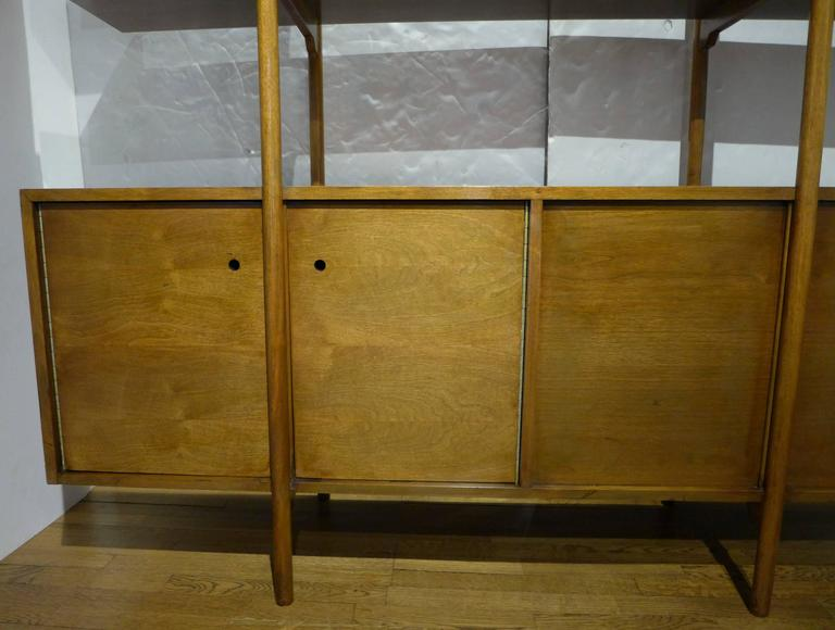 American Milo Baughman Storage Room Divider for Glenn of California For Sale