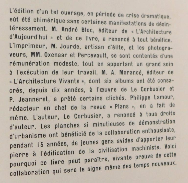 First Edition Le Corbusier Book with Inscription For Sale 2