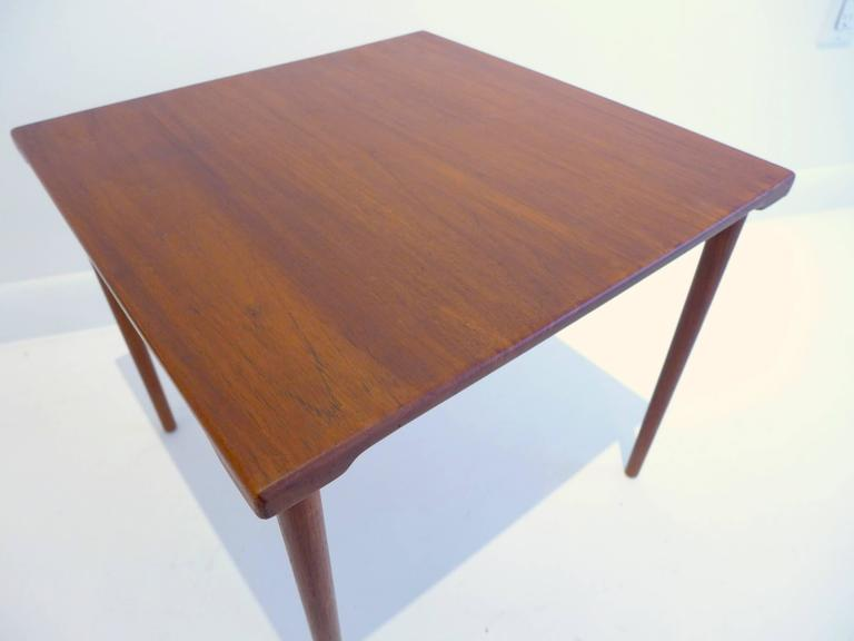 Danish Peter Hvidt and O. Molgaard-Nielsen Side Table For Sale