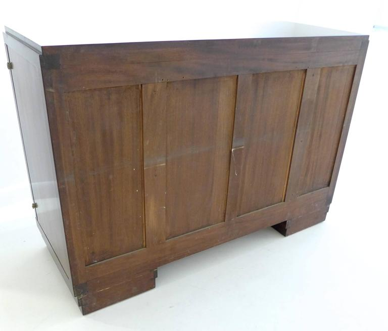 French Art Deco Cabinet in Macassar Ebony For Sale 2