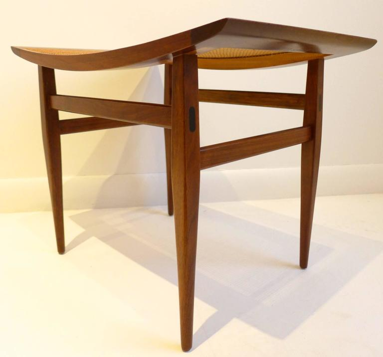 Three Elegant Kipp Stewart Stools For Sale At 1stdibs
