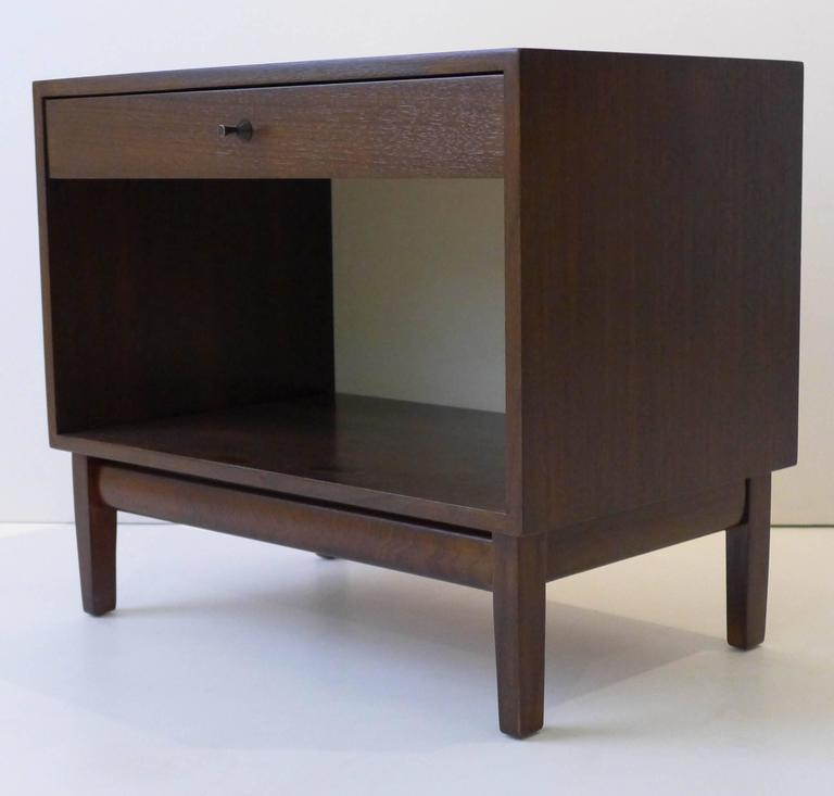 American Pair of Calvin Furniture Nightstands For Sale