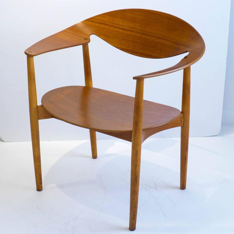 Metropolitan Chair by Madsen and Larsen For Sale at 1stdibs