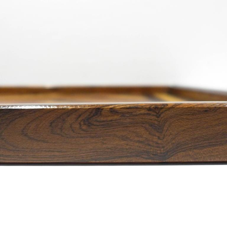 Don Shoemaker Marquetry Tray In Excellent Condition For Sale In New York, NY