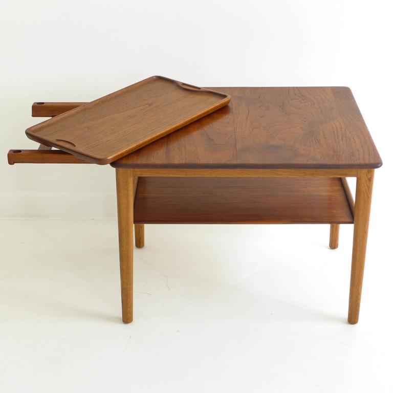 Hans Wegner Tray Table At 1stdibs