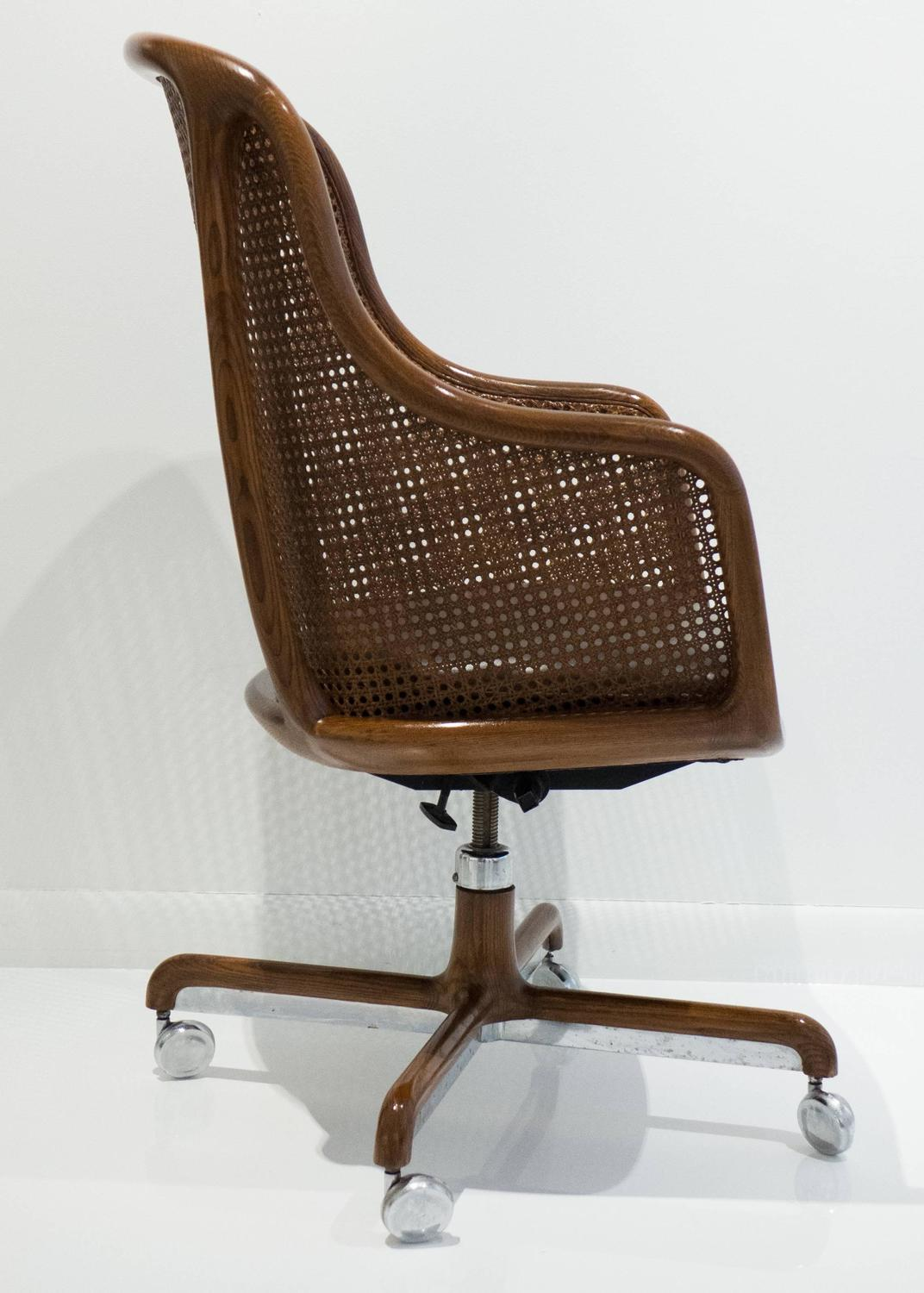 Ward Bennett High Back Office Chair For Sale At 1stdibs