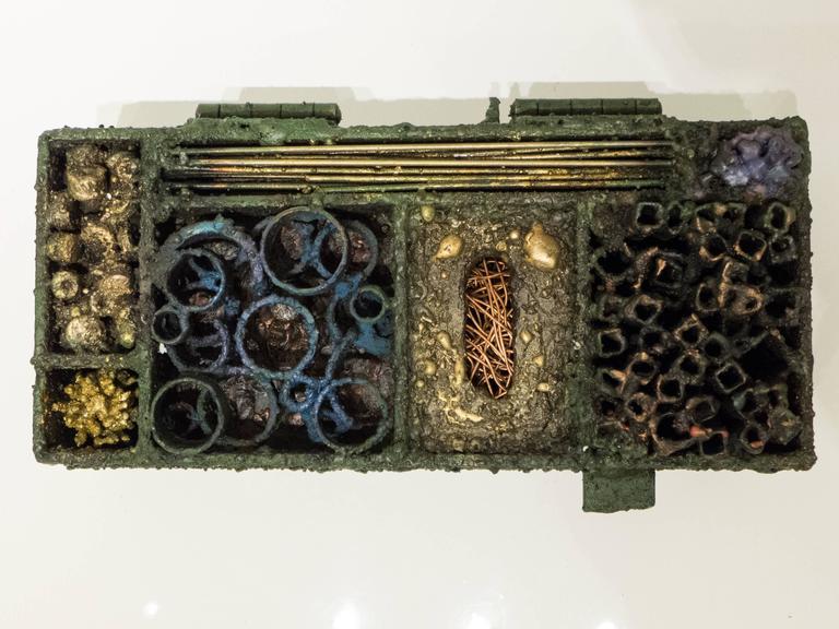 American James Bearden Segment Jewelry Box For Sale