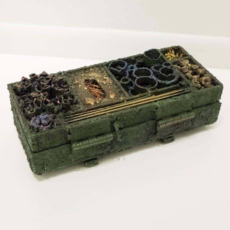 Contemporary James Bearden Segment Jewelry Box For Sale