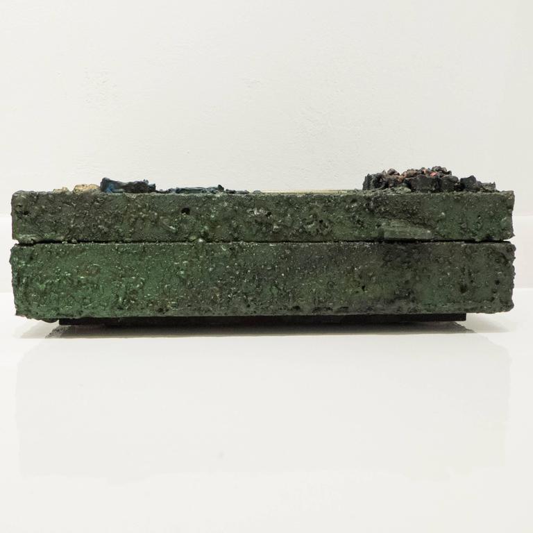 Brutalist James Bearden Segment Jewelry Box For Sale