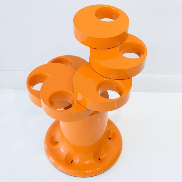 Pluvium Umbrella Stand in Orange 2