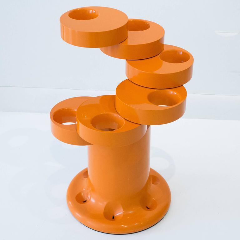 Pluvium Umbrella Stand in Orange 3