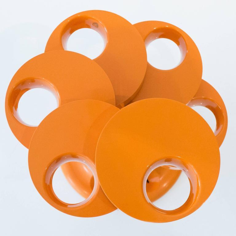 Pluvium Umbrella Stand in Orange 4